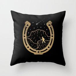 Lucky Stars Throw Pillow