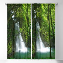 Waterfall in the Azores Blackout Curtain