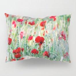 Summer Love, Poppy meadow Pillow Sham