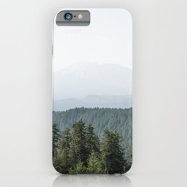 Lookout Ridge - Mountain Nature Photography iPhone Case