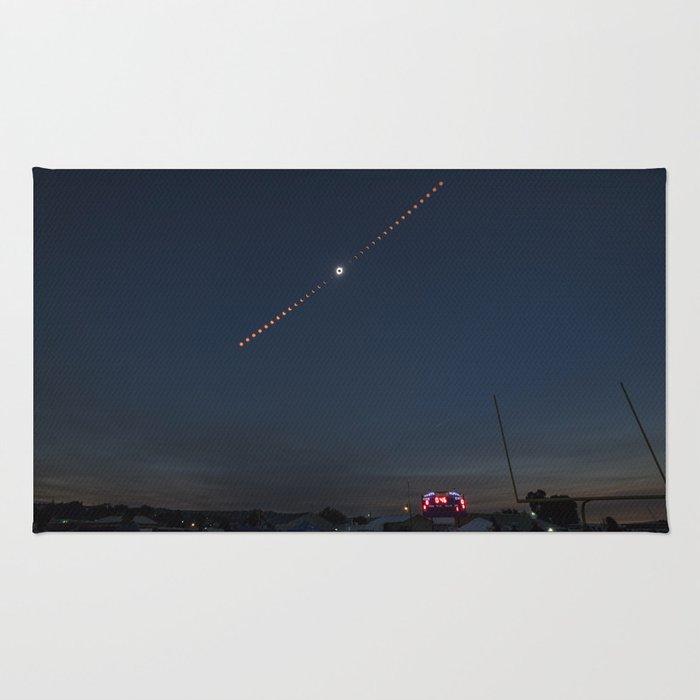 2017 Total Solar Eclipse 2 Rug