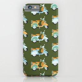 Vespa - green  iPhone Case