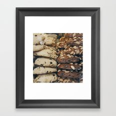 Almond Cookies Framed Art Print