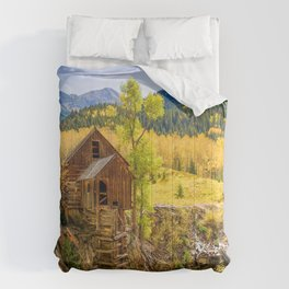 USA Crystal River Colorado Autumn Nature Mountains Forests landscape photography mountain forest Scenery Comforters