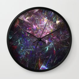 Shattered Prisma Wall Clock