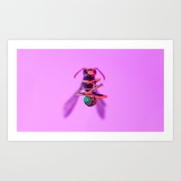 Bugged #04 Art Print