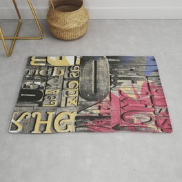 The forgotten Word Rug