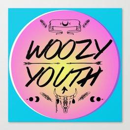 Woozy Youth Canvas Print