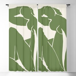 Green Blue Nude by Henri Matisse Blackout Curtain