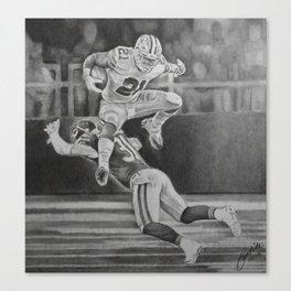 "Zeke-""Jump"" Canvas Print"