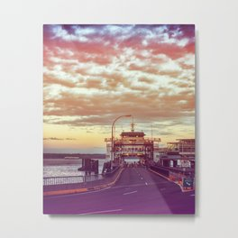 Kingston at Sunset Metal Print