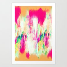 Electric Haze Art Print