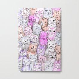 catsquad Metal Print