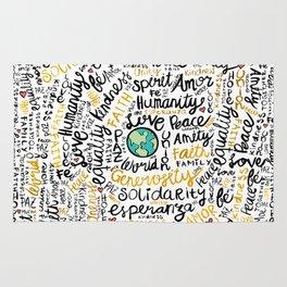 Positive Messages Rug