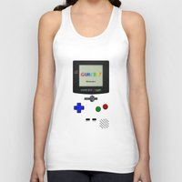 gameboy Tank Tops featuring GAMEBOY COLOR by Smart Friend