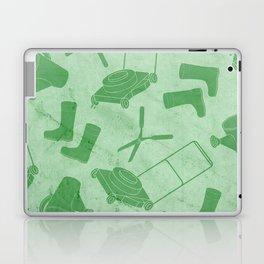 GARDEN TOOL KIT PATTERN Laptop & iPad Skin