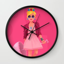 Princess Wall Clock