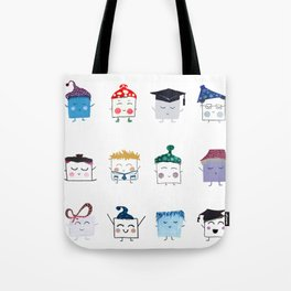 MyHappySquare Collection Tote Bag