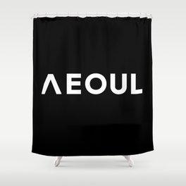 Seoul [Hangul] Shower Curtain