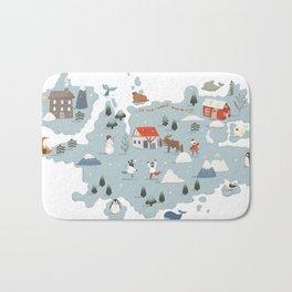 Winter Village Bath Mat