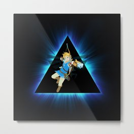 ZELDA TRIANGEL Metal Print
