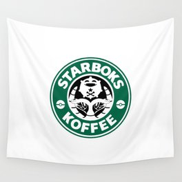 Starboks Koffee Wall Tapestry