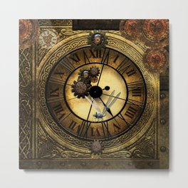 Steampunk design Metal Print
