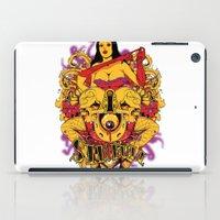 rockabilly iPad Cases featuring Sinful rockabilly  by Tshirt-Factory
