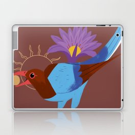 Familiar - Sri Lankan Bluejay Laptop & iPad Skin