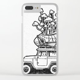 The Tiny Little Shop On Earth Clear iPhone Case