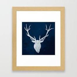 Antlers 2 Framed Art Print