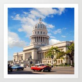 El Capitolio, Cuba Art Print