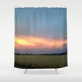 Rural Warmth Shower Curtain