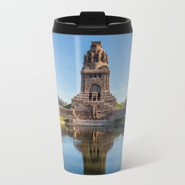 Battle of the Nations Monument in Leipzig Travel Mug