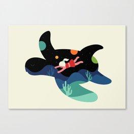 Ocean Roaming Canvas Print