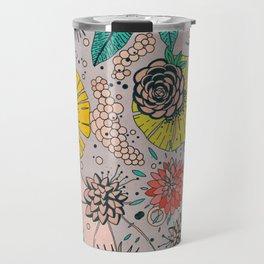 Olga loves flowers Travel Mug