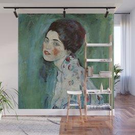 """Gustav Klimt """"Portrait of a lady"""" Wall Mural"""