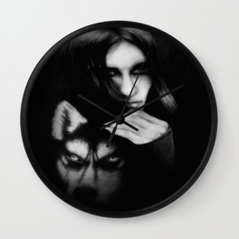 Nature whispers are calling... Wall Clock