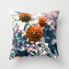 an angel's kiss in spring Throw Pillow