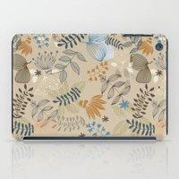 floral pattern iPad Cases featuring Floral pattern by De Assuncao création
