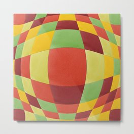 Tropical fruit warp Metal Print
