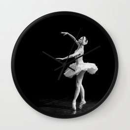 Russian Ballet Dancer 1 Wall Clock