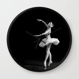 Russian Ballet Dancer 1 Wall Clock