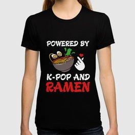 Kpop Powered By K-pop And Ramen T-shirt