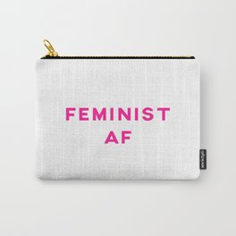 Feminist AF Aesthetic Carry-All Pouch