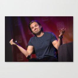 Sebastian Stan   SLCC 2015 Canvas Print
