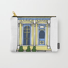 New Orleans Shotgun House - Color Carry-All Pouch