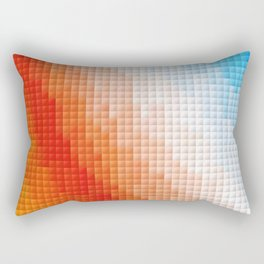 Square Color Space Rectangular Pillow