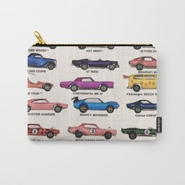1969 Vintage Hot Wheels Redline Dealer's Store Display Poster Carry-All Pouch