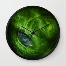 Blue Eye 2_Large Wall Clock